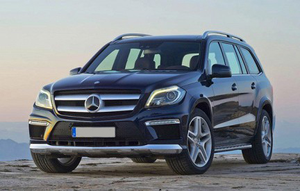 Car Rental Mercedes GL 2013 in Moscow